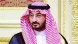 الأمير عبدالله بن بندر يؤدي صلاة الميت على الأمير خالد بن عبدالله