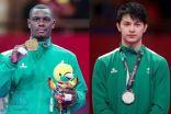 """""""آل الشيخ"""" يقدم 300 ألف ريال للاعب """"رائف تركستاني"""" لفوزه بالميدالية الفضية في دورة الألعاب الآسيوية"""
