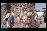 شاهد بالفيديو: مواطن يوثق تحول مكان صلح الحديبية إلى مزار