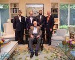 شاهد بالصور.. ولي العهد يزور رئيسي أمريكا الأسبقين بوش الأب والابن في تكساس