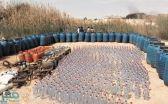 العثور على 92 برميلاً مهيأة للتعبئة.. ضبط مصنع خمور شمال الرياض (فيديو)