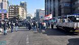 الأمن اللبناني يستخدم الرصاص المطاطي ضد مواطنين قطعوا طريقا رئيسا شرق بيروت