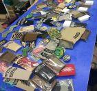 إمارة الرياض: ضبط 55 بدلة عسكرية وأنواط وشعارات مخالفة في المزاحمية