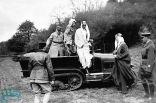 صور نادرة للملك فيصل في زيارة لفرنسا في عمر 26 عاماً