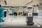 شؤون الحرمين: (10) روبوتات تطوف المسجد الحرام للتعقيم
