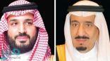 القيادة تبعث برقية تهنئة إلى ملك الأردن بذكرى يوم الاستقلال