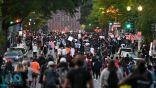 أعمال شغب بمحيط البيت الأبيض والشرطة تستخدم الغاز المسيل للدموع