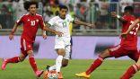 الأبيض الإماراتي يستعد لمواجهة الأخضر السعودي في العين