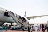 الخطوط السعودية تبدأ عمليات نقل الحجاج في مرحلة العودة