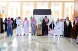 """أمير الباحة يستقبل رئيس """"جمعية تعاطف الخيرية"""" للخدمات الصحية بالمنطقة .. ويدشن مقر الجمعية الجديد بالمخواة"""