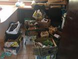 ضبط ١٢٠ كجم مواد غذائية مخالفة في القطيف