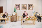 سمو أمير منطقة جازان يستقبل السفير الإماراتي لدى المملكة