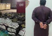 ضبط وافدين حاولا تهريب 107 آلاف علبة سجائر داخل صهريج شاحنة بجدة
