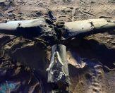 """""""وزارة الدفاع"""" تعرض فيديو وصوراً لتدمير طائرات بدون طيار حوثية قبل استهدافها للمدنيين"""