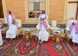 سمو أمير منطقة جازان يقدم التعازي في وفاة الشيخ فيصل بن لبده