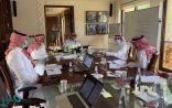 """""""تركي بن طلال"""" يتابع مشروعات طرق عسير في اجتماع مع مسؤولي وزارة النقل"""