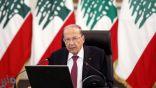 الرئيس اللبناني ينفي موافقته على تحقيق دولي بتفجير بيروت