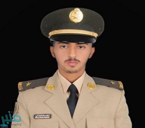 الملازم  وليد الزهراني يتخرج من كلية الملك عبدالعزيز الحربية