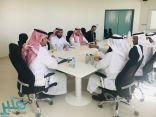 بحث سبل التعاون بين وكالة جامعة الأمير سطام بن عبدالعزيز للفروع ووحدة التوعية الفكرية