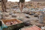 الجيش اليمني يعثر على مخزن أسلحة للميليشيا في منطقة كتاف بمحافظة صعدة