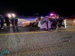 10 إصابات جراء حادث مروع بطريق الساحل الجديد