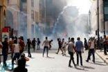 إصابة أكثر من 110 أشخاص خلال احتجاجات بيروت