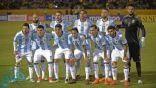 التشكيلة الرسمية لمنتخب الأرجنتين أمام منتخب كولومبيا