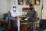 مدير عام فرع هيئة الأمر بالمعروف بمنطقة مكة المكرمة يزور مركز تدريب قوات أمن المنشآت بجدة