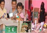 مركز الملك سلمان للإغاثة يوزع حقائب لمكافحة كورونا على الأيتام وأسرهم في اليمن