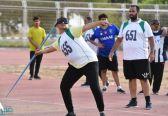 اختتام منافسات ألعاب القوى للإعاقات بجازان