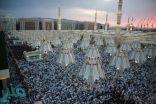 جموع المصلين يؤدون صلاة عيد الأضحي في المسجد النبوي بكل يسر وسهولة