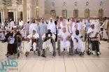 وكالة المسجد النبوي تسهل وصول عبوات زمزم لذوي القدرات الخاصة