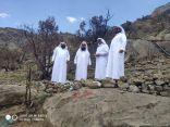 بدء المرحلة الأولى من إعادة تأهيل جبل غلامة بمحافظة تنومة