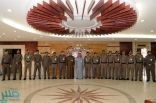 العميد الداود يقلد عدداً من ضباط قوى الأمن رتبهم الجديدة