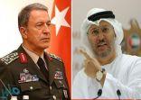 """""""سقوط جديد لدبلوماسية بلاده"""" .. أول رد إماراتي على التصريح الاستفزازي لوزير الدفاع التركي"""