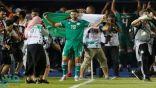 فرحة متبادلة على الحدود المغربية الجزائرية بمناسبة تأهل الجزائر لنصف نهائي أمم أفريقيا
