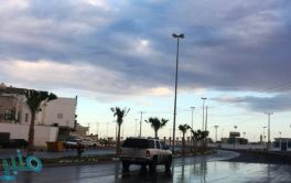 أمطار رعدية على منطقة الباحة تستمر حتى الـ 9 مساء
