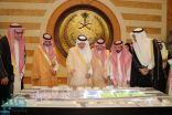 أمير مكة يدشن مشروع تطوير الجزيرة الوسطى الواقعة تحت كوبري ميناء جدة الإسلامي