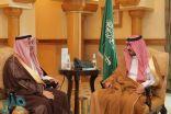 نائب أمير مكة يستقبل الأمين العام لمؤسسة الملك عبدالعزيز ورجاله للموهبة والإبداع