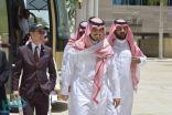 بالصور : نائب أمير مكة يزور مركز ثول شمال محافظة جدة