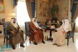 الأمير خالد الفيصل يستقبل محافظ الهيئة السعودية للمواصفات والمقاييس والجودة