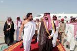 ولي عهد الأردن يصل جدة ونائب أمير مكة في مقدمة مستقبليه