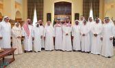 أمير مكة بالإنابة يستقبل أعضاء المجلس الفخري للجنة إصلاح ذات البين بالمنطقة