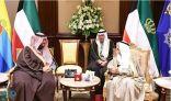 أمير دولة الكويت يستقبل سمو الأمير تركي بن محمد بن فهد