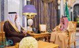 خادم الحرمين يستقبل الأمين العام لمجلس دول التعاون الخليجي