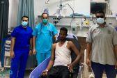 نجاة مقيم سوداني من الغرق بشرم ينبع
