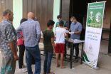 مركز الملك سلمان للإغاثة يواصل توزيع المساعدات على الأسر المتعففة شمال لبنان
