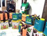مركز الملك سلمان للإغاثة يواصل توزيع المساعدات للمتضررين من السيول في السودان