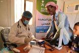 عيادات مركز الملك سلمان للإغاثة المتنقلة تواصل تقديم خدماتها العلاجية في حجة