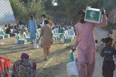 مركز الملك سلمان للإغاثة يوزع أكثر من 95 طنًا من السلال الغذائية في باكستان